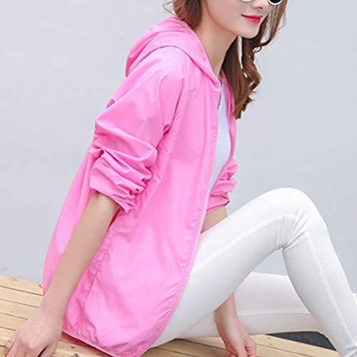 Facile Semplice Coreana Sottile Manica Lunga Giovane Outwear Elegante Glamorous Solare Protezione Trench Maniche Colore Con Collo Donna Autunno Mantello Brillante Cappuccio Nero Moda Elastico 5TwqHv