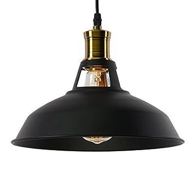 Glighone Suspension Luminaire Industrielle Rétro Vintage E27