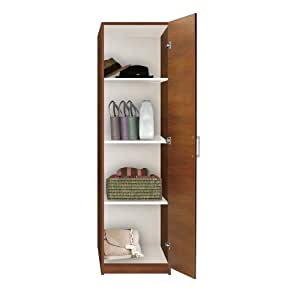 Amazon.com: Alta Wardrobe Closet   Narrow Closet, Right Door, 3 Shelves:  Kitchen U0026 Dining
