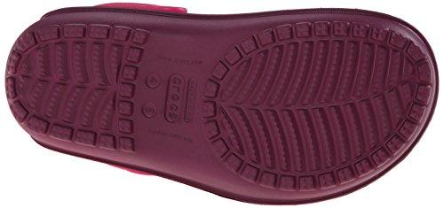 plum candy Mixte Duet Rose Wave Crocs Pink Sabots Adulte 6q4Cpnnwg