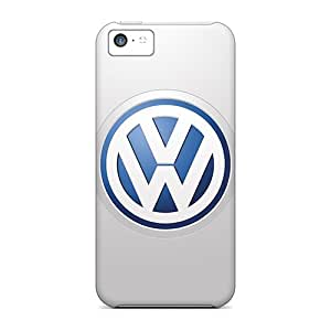 Bumper Hard Cell-phone Case For Apple Iphone 5c (HqU5604fAiv) Custom Nice Volkswagen Logo Pictures