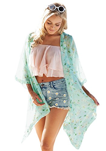 LookbookStore Womens Sleeves Cardigan Blouses