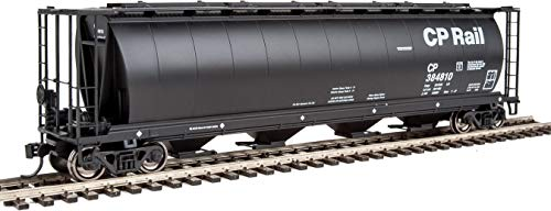 Walthers HO Scale 59' Cylindrical Hopper Canadian Pacific/CP Rail/Black ()