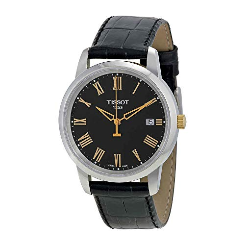 (Tissot Men's TIST0334102605301 Class Dream Analog Display Swiss Quartz Black Watch)
