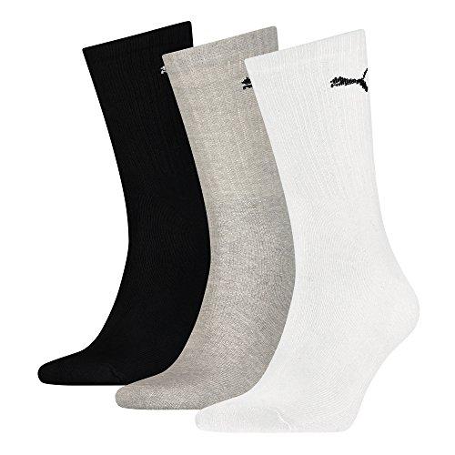 grey Pair 9 Gr Unisex 49 Socks Sport Puma black Tennis White 35 5vdOAqqwx