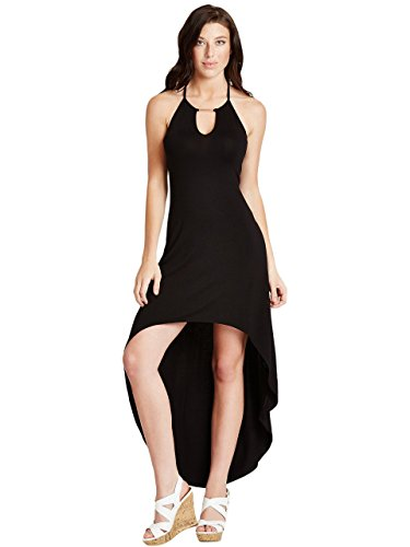 G by GUESS Women's Geona Strappy High-Low Maxi Dress