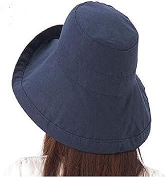 Demarkt Damen Sommer Faltbarer Sonnenhut Sonnenschutz Fischerhut UV-Schutzkappe geeignet f/ür Reisen Outdoor /Übung Strand