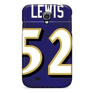 Cute Tpu Ashustom2o68 Baltimore Ravens Cases Covers For Galaxy S4