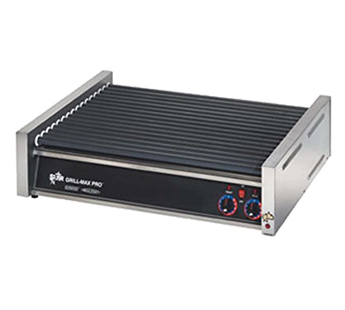 Star Manufacturing 30SCF Grill-Max Pro Flat Hot Dog Grill, Roller Style w/Duratec Rollers