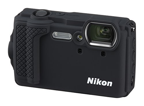 Nikon W300 Waterproof Underwater Digital Camera with 3-Inch TFT LCD, Black