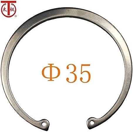 Ochoos 35 50 Pieces//lot - Internal circlips RTW GB893 Internal Retaining Ring Inner Diameter: 35-304
