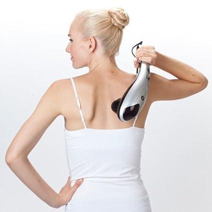 Amazon.com: Masajeador De Cuerpo Y Espalda Completo Con Luz Infrarroja - Masajeador Electrico - Alivia El Dolor Muscular Y El Estres: Health & Personal Care