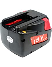 H-ANT 18V 2000mAH Replacement Battery-Compatible for Milwaukee 48-11-1830 4932352002 4932399512 MV18B V18 F38