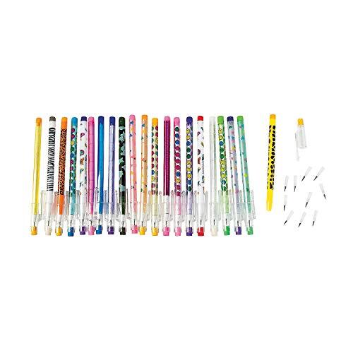 Stacking Point Pencil Assortment (50 pieces) - Bulk ()