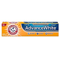 Arm & Hammer Advance White Extreme Whitening Toothpaste, Clean Mint, 6 Ounce (Pack of 3)