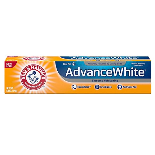 Clean Mint Extra Toothpaste Whitening (Arm & Hammer Advance White Extreme Whitening Toothpaste, Clean Mint, 6 Ounce (Pack of 3))