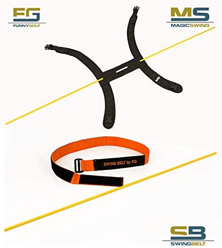FUNNY GOLF Pack Swing Belt Slim + Magic Swing: Amazon.es: Deportes ...