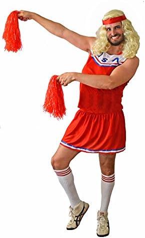El Carnaval Disfraz Animadora USA Hombre Adulto - Despedidas de ...