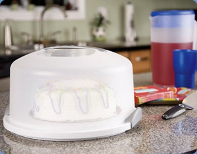 TrueCraftware White Semi-Transparent Cake Server - Carrier - 13'' by TrueCraftware (Image #2)