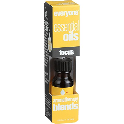 EO Products Everyone Aromatherapy Blends - Essential Oil - Focus - .5 oz (Pack of 2) ()