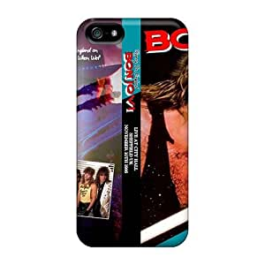 Iphone 5/5s EBW10793KYec Allow Personal Design High-definition Bon Jovi Skin Best Hard Cell-phone Case -SherriFakhry
