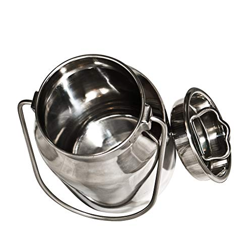 2 Qt Stainless Steel Milk Can Tote (2 Qt) for sale  Delivered anywhere in USA