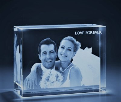 buy aadya crystal 3d crystal engraved gifts couple 3d photo