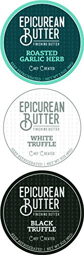 Epicurean Butter, Steak Finishing Butter, Variety Pack