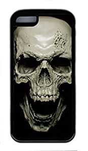 DIY Single Back Case Cover for iphone 5/5S With Skull