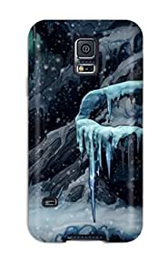 Amanda W. Malone's Shop New Style Premium Durable The Night Of The Rabbit Widescreen Fashion Tpu Galaxy S5 Protective Case Cover