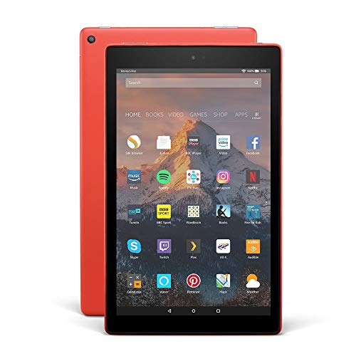 """Fire HD 10 Tablet with Alexa Hands-Free, 10.1"""" 1080p Full HD Display, 64..."""