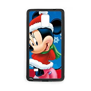 Mickey's Twice Upon a Christmas Samsung Galaxy Note 4 Cell Phone Case Black tbef