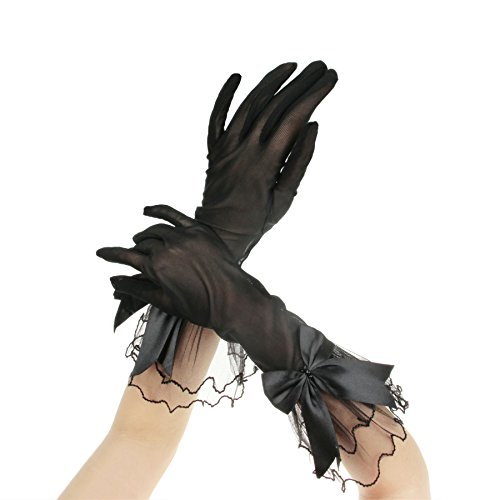 APAS Semitransparent Gloves Wedding Finger