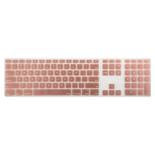 Mosiso Silicone Keyboard Protector Numeric