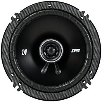 Coaxial Speakers KICKER DSC650 6.5-Inch 160-165mm 4-Ohm Bundle