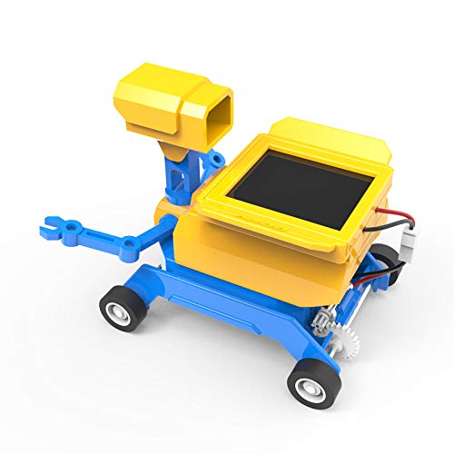 Assembly Physical Toys, STEM Learning Toy , Parent-Child Interactive Toys Science Educational Toy Set,Salt Water and Solar Robots ()