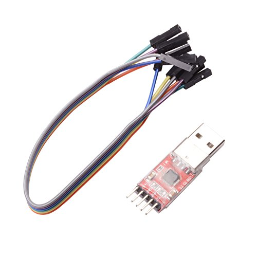 (Qunqi CP2102 Module STC Download Cable USB 2.0 to TTL 5PIN Serial Converter)