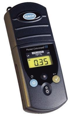 Chlorine Dioxide, DPD - Pocket Colorimeter II Test Kits, (Colorimeter Test)