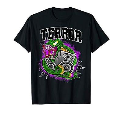 Snake Space Art Trippy Funny EDM Hardstyle Dubstep DJ Riddm T-Shirt