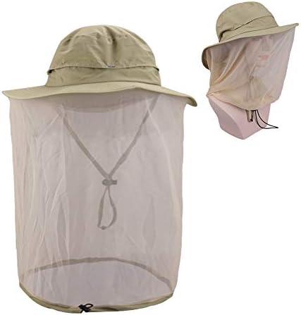 Magarrow アウトドア 日焼け防止 ハット メンズ 帽子 軽量 虫よけ 蚊よけ網 紫外線対策 超軽量 uvカット レディース 旅行 釣り 登山 男女兼用