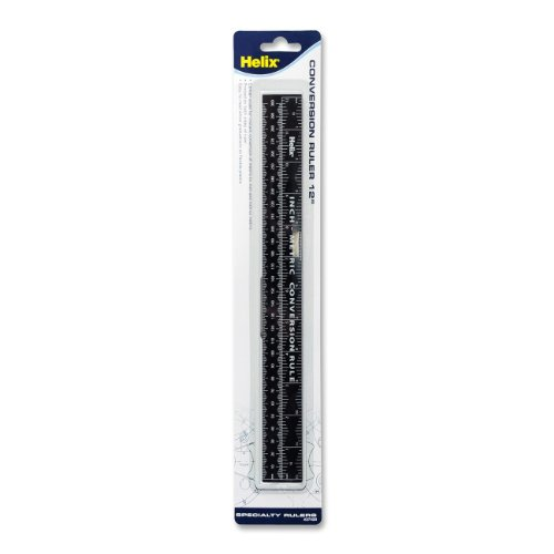Helix Inch-Metric Conversion Ruler (37420)