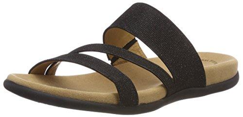 Shoes Gabor Schwarz Jollys Noir Femme Mules RwwUq6B