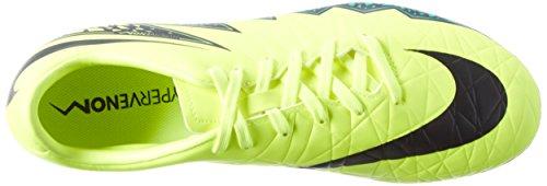 Nike Menns Hypervenom Phelon Ii Fg Fotballsko Volt, Hyper Turkis, Klart Jade, Svart
