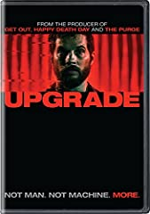 """After his wife is killed during a brutal mugging that also leaves him paralyzed, Grey Trace (Logan Marshall-Green, Spider-Man: Homecoming, Prometheus) is approached by a billionaire inventor with an experimental cure that will """"upgrade"""" his b..."""