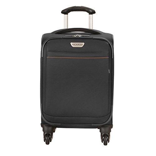 Ricardo Beverly Hills Mar Vista 2.0 17-Inch Carry-on Spinner, Black by Ricardo Beverly Hills
