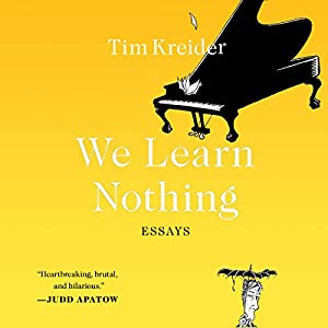 We Learn Nothing Audiobook