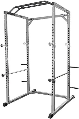 Valor Fitness BD-33 Heavy Duty Power Rack Squat Rack w Available Power Cage Bundle Option