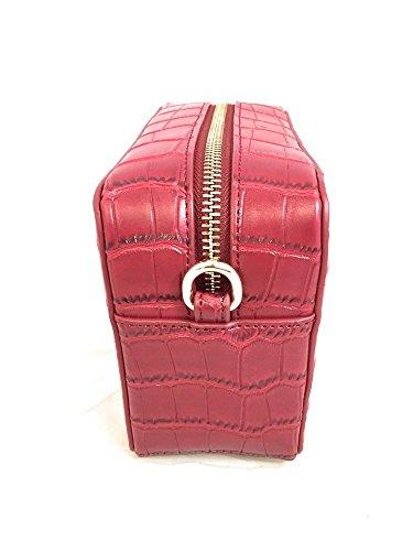 versace jeans borsa a tracolla rosso cocco