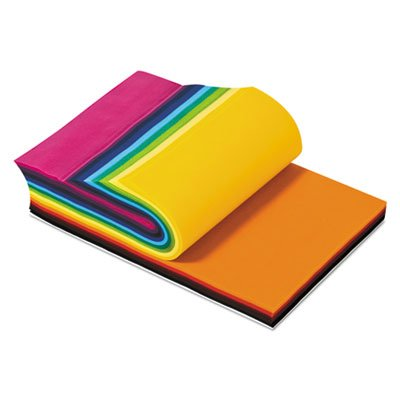 Smart Fab Disposable Fabric, 12 x 18 Sheets, Assorted, 270/PK, Sold as 270 Each Smart Fab Disposable Fabric