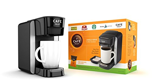 Cafe Valet Single Serve Coffee Brewer, Starter Kit